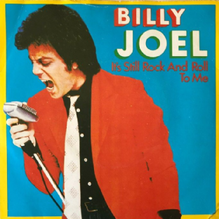 "Billy Joel - It's Still Rock And Roll To Me (7"") (VG/VG-)"